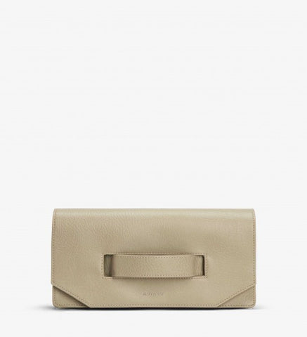 Abiko Clutch in Sand from Matt & Nat