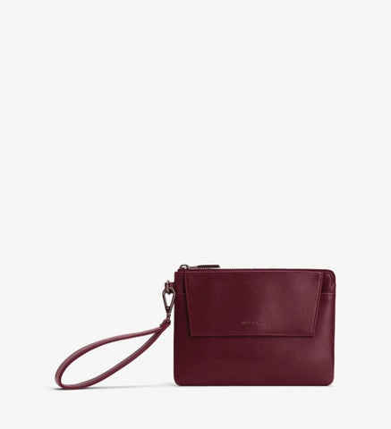 Maya Small Wallet in Cerise from Matt & Nat