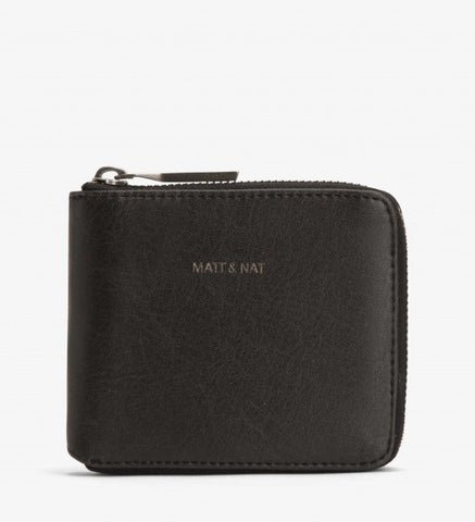 Watson Wallet in Black from Matt & Nat