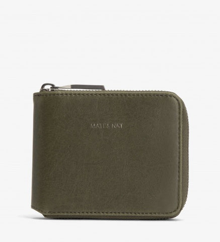 Watson Wallet in Olive from Matt & Nat