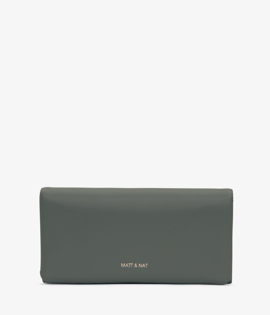 Verso Wallet In Thyme from Matt & Nat