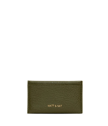 Sal Cardholder in Leaf from Matt & Nat