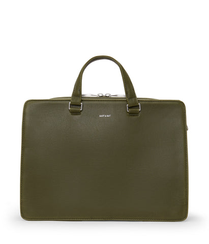 David Briefcase in Olive from Matt & Nat