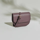 Hamilton Round Crossbody in Ash Rose from Angela Roi