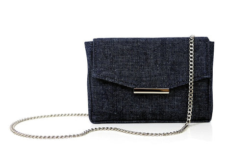 Convertible belt bag in indigo from Hipsters for Sisters