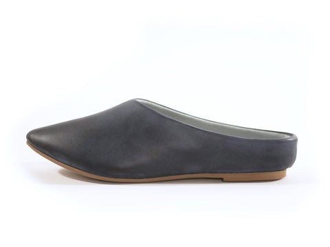 Willow Mule in Blue from Loyal Footwear