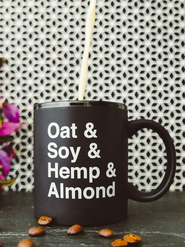 Vegan Milks Mug by Herbivore