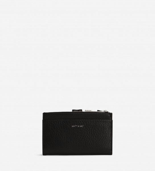 Motiv Small Wallet in Black from Matt & Nat