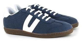 Cheatah Sneaker in Navy from Vegetarian Shoes