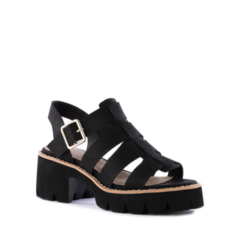 Never Ends Sandal in Black from BC Footwear