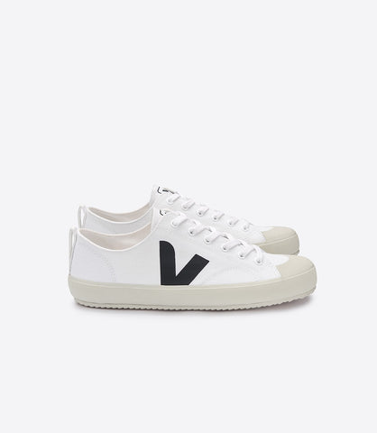 Women's Nova Sneaker in White/Black from Veja