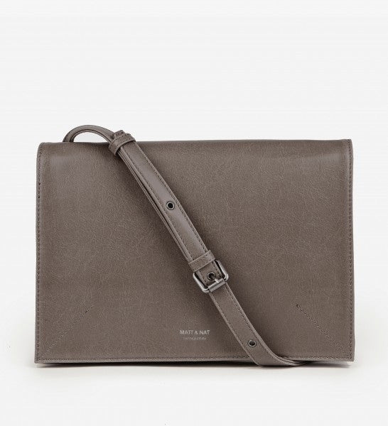 Orwell Crossbody in Walnut from Matt & Nat