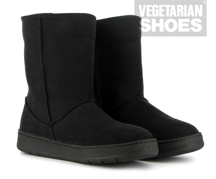 Snugge Boot in Black from Vegetarian Shoes