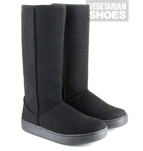 Highly Snugge Boot in Black from Vegetarian Shoes