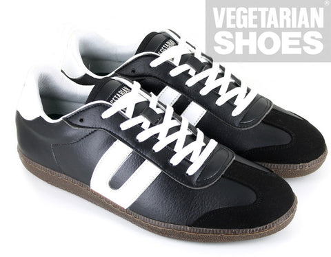 Cheatah Sneaker in Black from Vegetarian Shoes