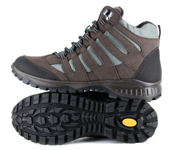 Approach Mid Brown Hiking Boot from Vegetarian Shoes