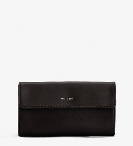 Connolly Wallet in Black from Matt & Nat