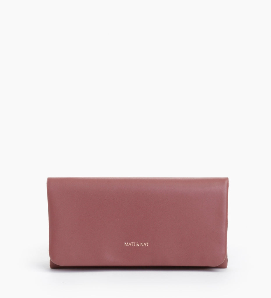 Verso Wallet in Mauve from Matt & Nat