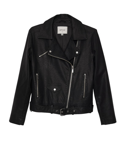 Draden Moto Jacket in Black from Matt & Nat