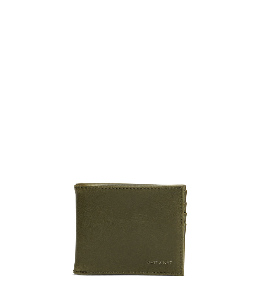 Rubben Wallet in Olive from Matt & Nat