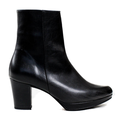 Stevie Platform Boot in Black from Bhava