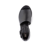 United Platform Sandal in Black from BC Footwear