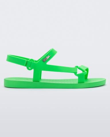 Sun Downtown Sandal in Green from Melissa