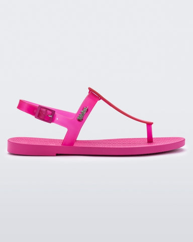 Sun Ventura Sandal in Pink from Melissa