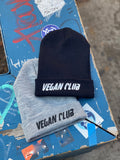 Vegan Club Beanie in Black