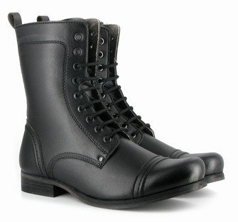 Vintage Boot in Black from Vegetarian Shoes