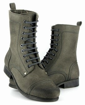 Vintage Boot in Grey from Vegetarian Shoes