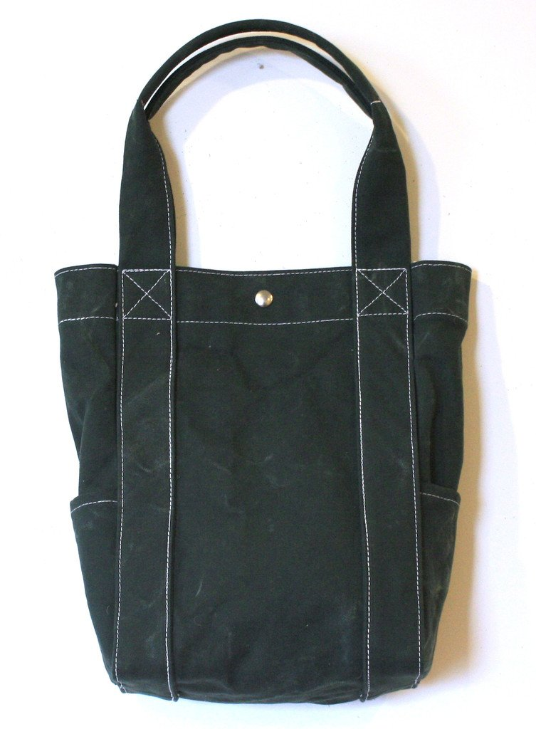 Washed Tote Olive by Utility Canvas