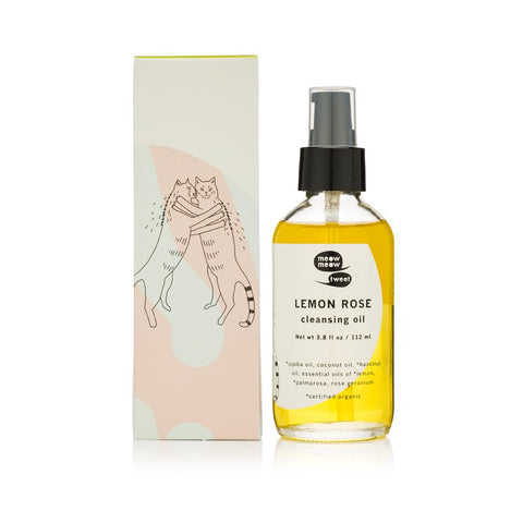 Lemon Rose Cleansing Oil from Meow Meow Tweet