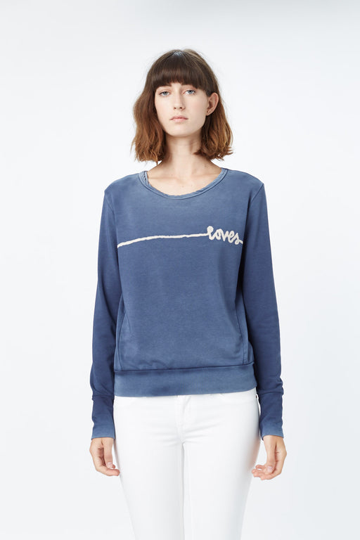 THE FITTED SWEATSHIRT SAILOR LOVES LINES