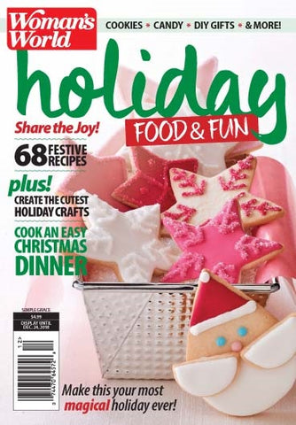 Woman's World 2018.Holiday Food & Fun