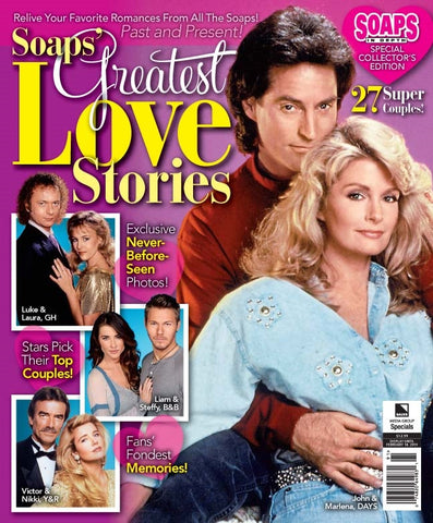 Soaps In Depth Special: Soaps' Greatest Love Stories