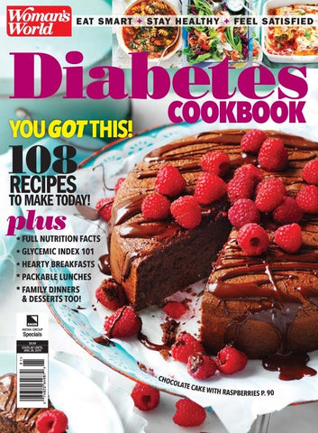 Woman's World: Diabetes Cookbook