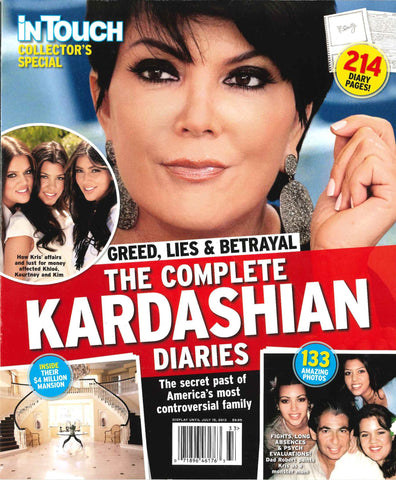 Greed, Lies & Betrayal - The Complete Kardashian Diaries