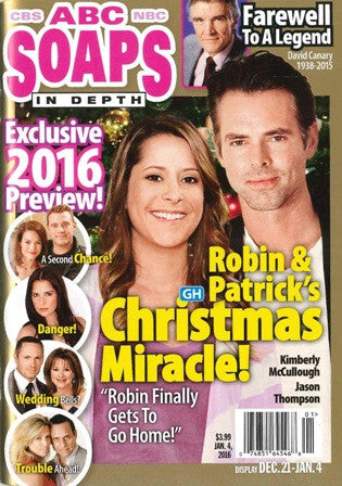 Soaps In Depth 2016.01.04