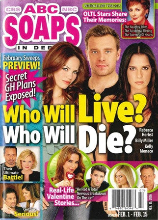 Soaps In Depth 2016.02.15