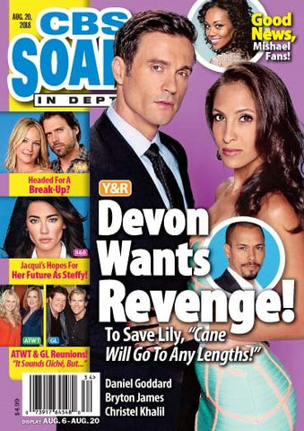 Soaps In Depth 2018.08.20