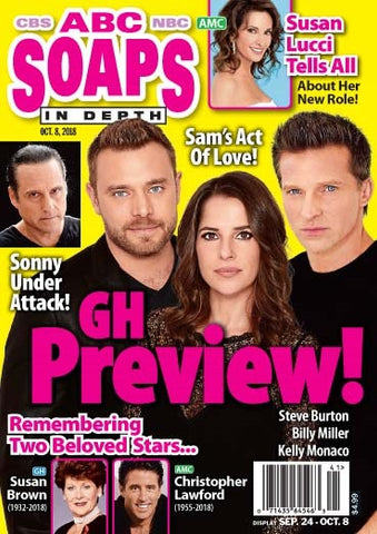 Soaps In Depth 2018.10.08
