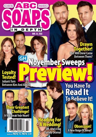 Soaps In Depth 2018.11.19