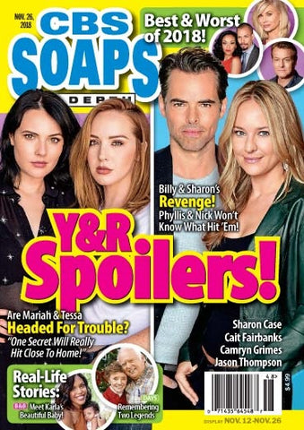Soaps In Depth 2018.11.26