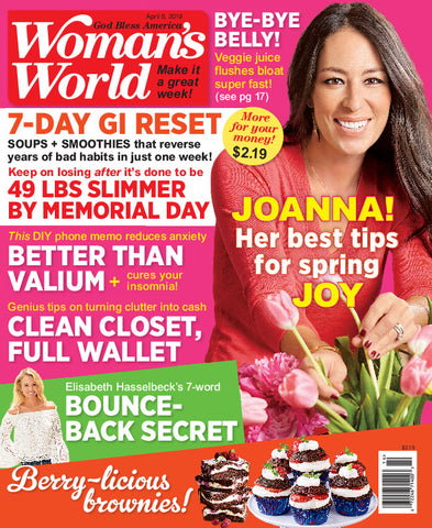 Woman's World 2019.04.08