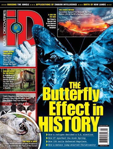 iD 2019.01: The Butterfly Effect in History