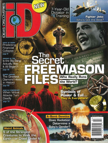 iD 2012.02: The Secret Freemason Files