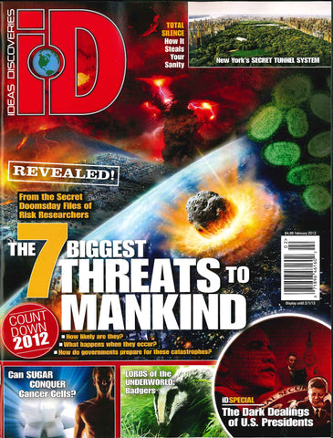 iD 2013.02: The 7 Biggest Threats to Mankind