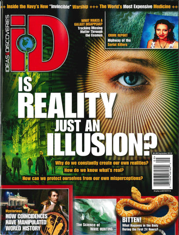 iD 2013.09: Is Reality just an Illusion?