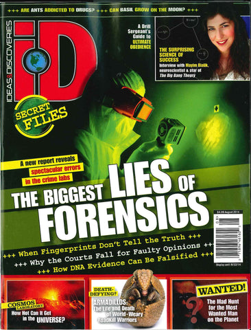 iD 2014.08: The Biggest Lies of Forensics